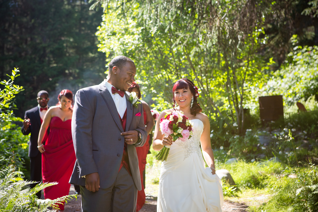 A White Wedding at Crow CreekMine